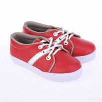 Catenzo Junior Sepatu Flat Baby CAKx001 Red