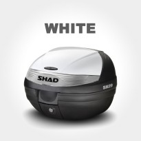 SHAD Top Box SH 29 with Cover - White