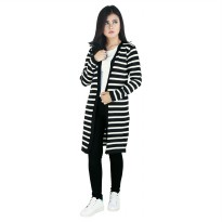 Raindoz Knit/Sweater Wanita RIYx005 Black Comb