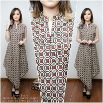 SB Collection Dress Maxi Vanny Longdress Panjang Kaftan Batik Wanita