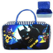 Tas Travel Kanvas JUMBO Batman Lego Movie