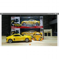 RC Robot Mobil Bumblebee Deformation - 8502 2.4GHz