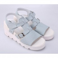 CATENZO | SANDAL WEDGES WANITA - DO 028