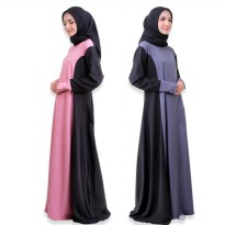 Fawaida Dress Mosscrepe Premium by Orlin Hijab Official
