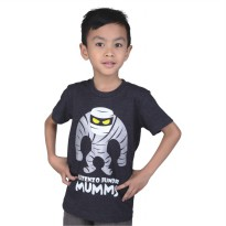 Catenzo Junior Kaos/Tshirt Anak CPSx043 Mummy Grey