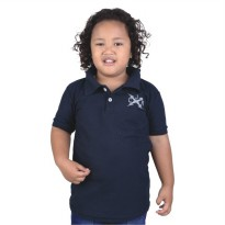 Catenzo Junior Kaos Polo Anak CPLx102 Navy Blue
