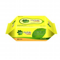 My kids Wipes Green Finger portable x15 portable to 30 pcs / Portable Wet / green finger wipes / wet tissue Kids
