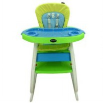 Pliko High Chair HC505 - Green