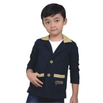 Catenzo Junior Sweater Anak CNKx004 Navy Blue