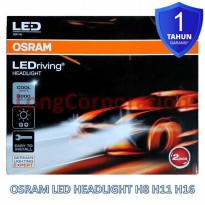 Osram LED Headlight H11 12V Cool White 6000K Putih Bersih Lampu Mobil BRV Innova Reborn New Fortuner New Pajero Rush Mazda CX9 New Sirion Fiesta New CRV HRV Rush New Accord City Yaris Freed Stream