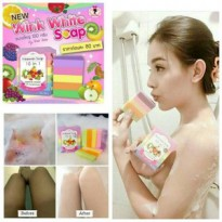 FRUITAMIN SOAP 10 IN 1 ORIGINAL BY WINK WHITE SABUN PEMUTIH