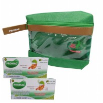KALBE OBAT MAAG PROMAG CAIR 2 BOX FREE COSMETIC POUCH