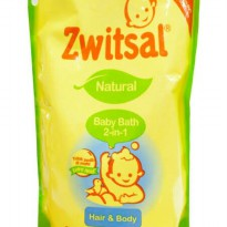 ZWITSAL NATURAL BABY BATH 2 IN 1HAIR IN BODY paket isi 3