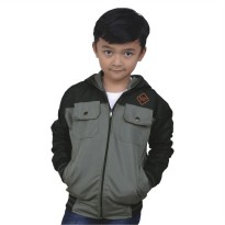Catenzo Junior Jaket Anak CDIx128 Grey Comb