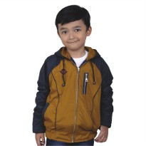 Catenzo Junior Jaket Anak CDIx129 tan Comb