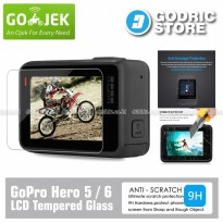 GoPro Hero 5 / Hero 6 LCD Tempered Glass Screen Protector Anti Gores