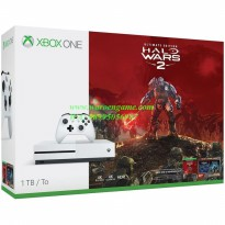 Xbox One S Slim 1TB Console - Halo Wars 2 Bundle (White) Full 20 Game