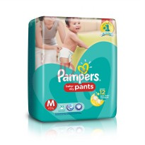PAMPERS BABY DRY PANTS M-30 / Pampers Celana