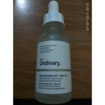 The Ordinary Niacinamide 10% & Zinc 1% Share bottle pipet 5ml