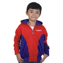 Catenzo Junior Jaket Anak CYIx160 Red Comb