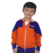 Catenzo Junior Jaket Anak Orange CYIx155 Little Uzumaki