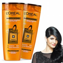 L'oreal Smooth Intense Caring Shampoo 330 ml
