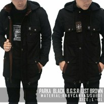 Jaket Parka YRS. B.G.S.R List Brown