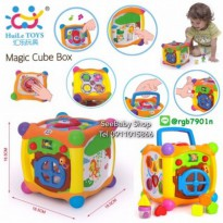 #Mainan Edukasi Magic Cube box education toys