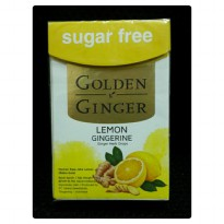 Permen Free Sugar Golden Ginger Lemon