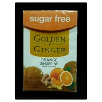 Permen Free Sugar Golden Ginger Orange