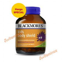 Blackmores Kids Body Shield / Immunities - 60 Tablet (BPOM Kalbe)