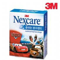 (Recommended) 3M Nexcare Waterproof Band breathing Cars 2 to 20 sheets / 3m band / bandages / Love 911 / bandages / Japan / band / Nexcare