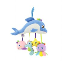 Tololo Baby Box Plush Rattle Toy - Ocean Series