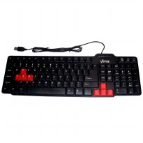 Votre Keyboard USB Basic KB2308 - Hitam