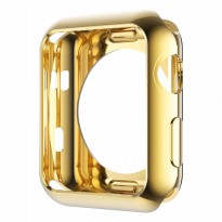 Hoco Electroplating TPU Case for Apple Watch 38mm Series 2&3 - Gold