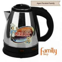 AIRLUX TEKO LISTRIK / ELECTRIC KETTLE STAINLESS 1,5L