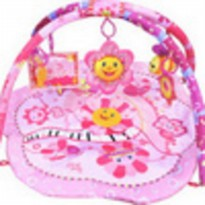 (Playmat) Playmate Ladila Pink Flower Musical Party
