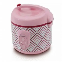 Sharp Rice Cooker KS-N18MG-PK ( PINK) Cap. 1.8 Liter 3in1, 400 Watt