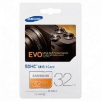 SDCard Samsung 32GB SDHC EVO Class 10 (48MB/s) - Memory for LSR Camera