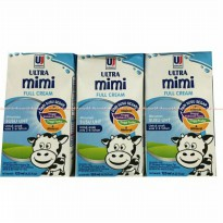 SUSU ULTRA MIMI 125ML RASA FULLCREAM ISI 40PCS