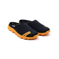 Dr.Kevin Men Sandals 1640 - Black/Yellow
