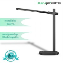 RAVPower Taotronic desk lamp DC 12V/2A support wireless charging EU black s TT-DL031