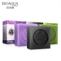 Bioaqua Oil Bamboo / Green Tea / Lavender/Honey/Blueberry Bar Cleansing Soap