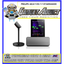 Philips AEA7100/17 StarMaker Wireless Bluetooth Portable Speaker & Wireless Karaoke Mic for iPad
