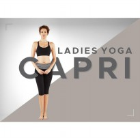 LADIES CAPRI YOGA PANTS / WOMENS CLOTHING / GOOD QUALITY / SPORTS WEAR FOR LADIES