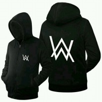sweater alan walker / sweater dj allan walker hitam / sweater cotton fleece