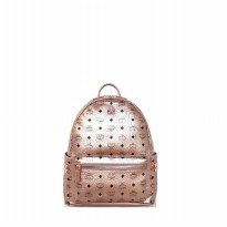 Tas Backpack Import Original M C M Stark Backpack Large - Gold