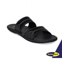 HOMYPED SANDAL ANAK SUPER WINGS 02 BLACK & CAMEL