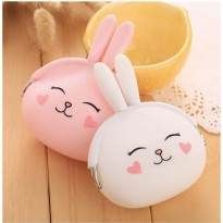 Dompet Koin Silikon Cute Bunny Candy Wallet SU0003