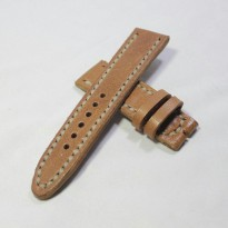 Leather strap handmade 22mm | strap jam tangan